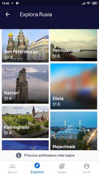 Skyscanner cheap flights to Russia